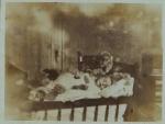 Sepia Photo Of Infant Sleeping